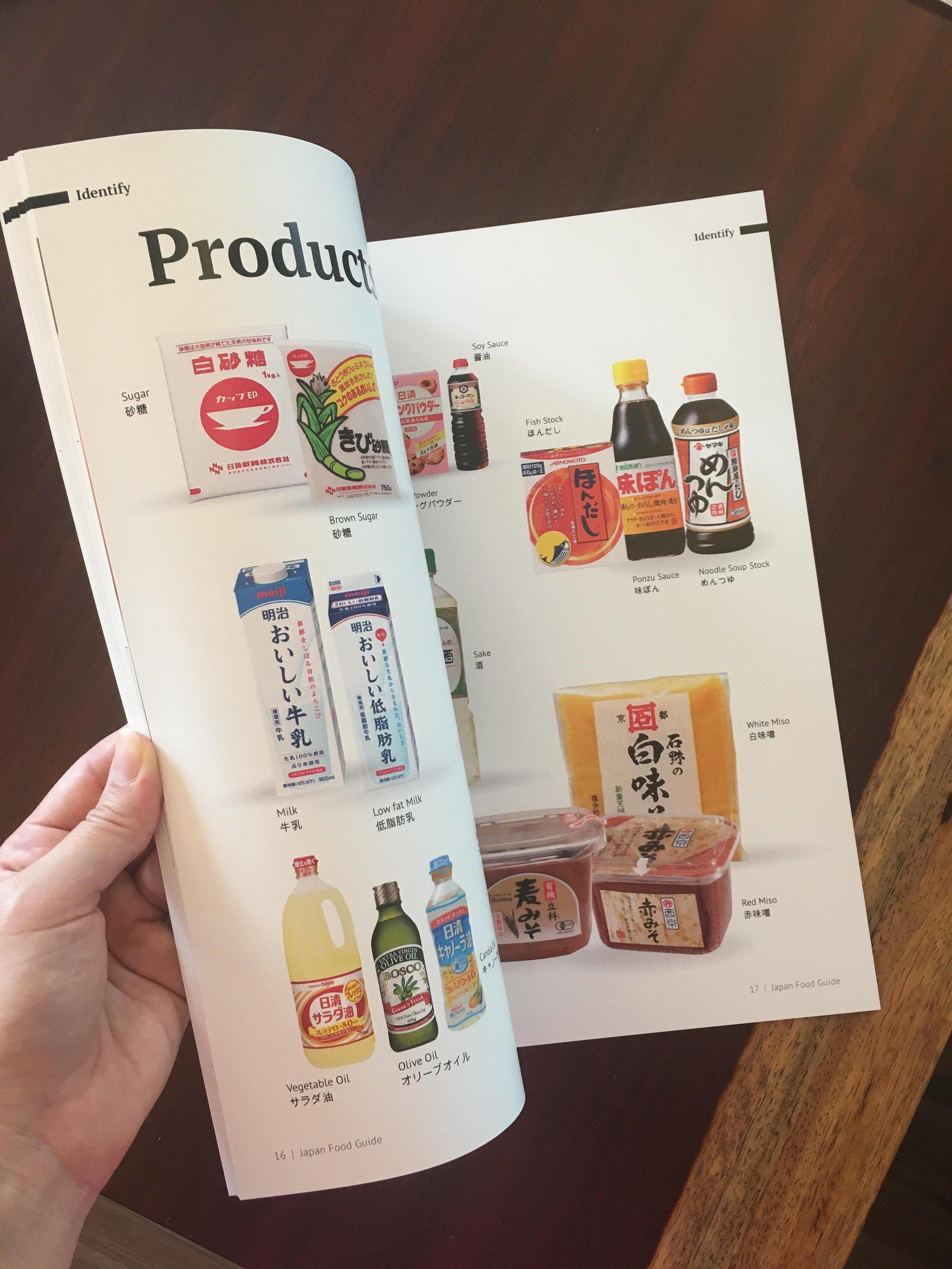 Japan Food Guidebook Products