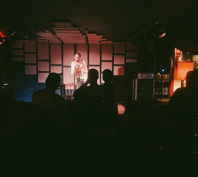 Inside Voices Comedy Night every Monday in The Library 📚 🍻