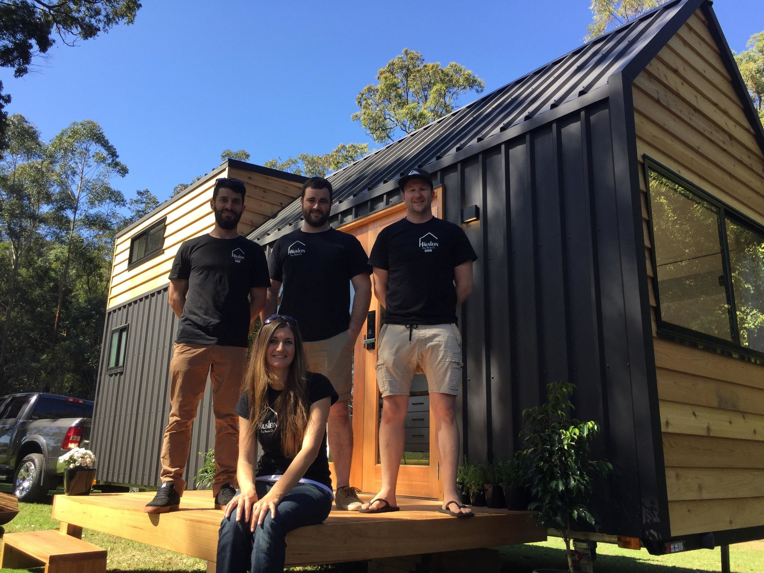 Häuslein Tiny House Co Launch the Business - Announcing the the launch of the company.