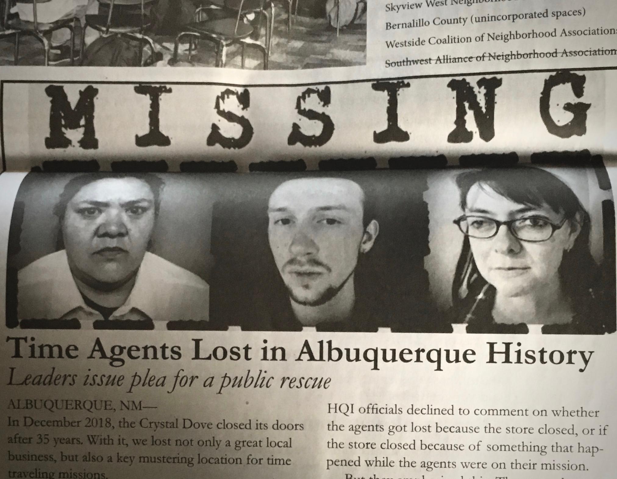 Agent Recovery - Albuquerque