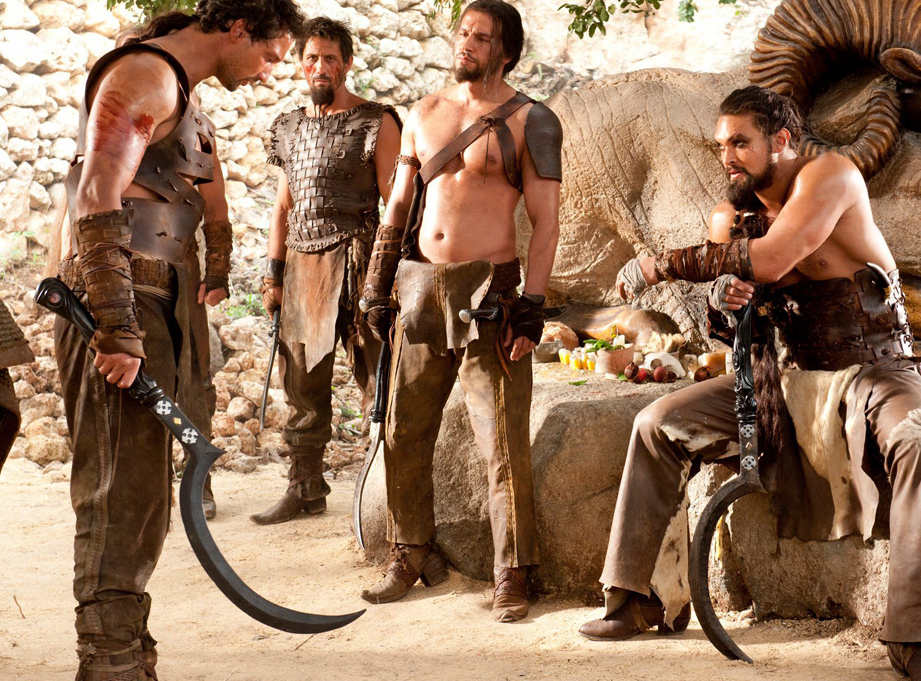 There's so much cool stuff in Game of Thrones but I really love the Dothraki swords.