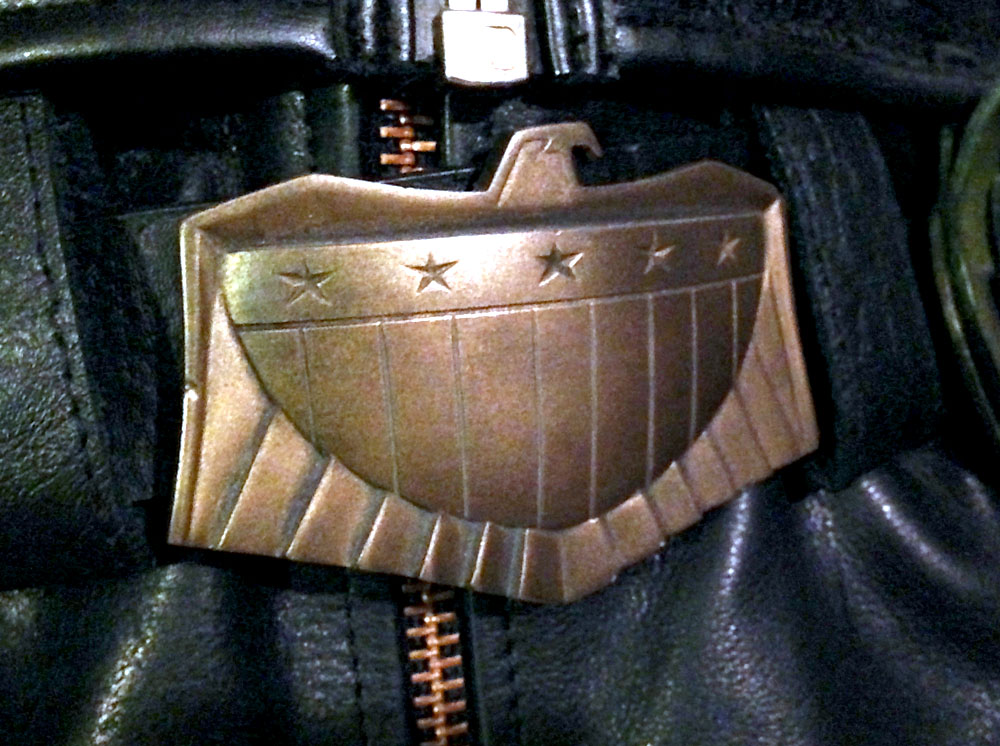 I bought my belt from someone on the RPF (Sorry, I don't remember who). The buckle is cold cast in brass from a screen-used piece and came attached to the belt.