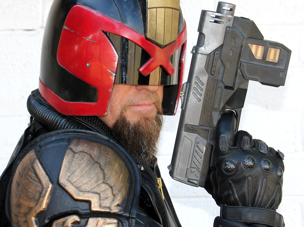 Me and my Lawgiver.