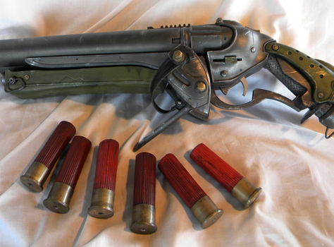 The final gun and shells!