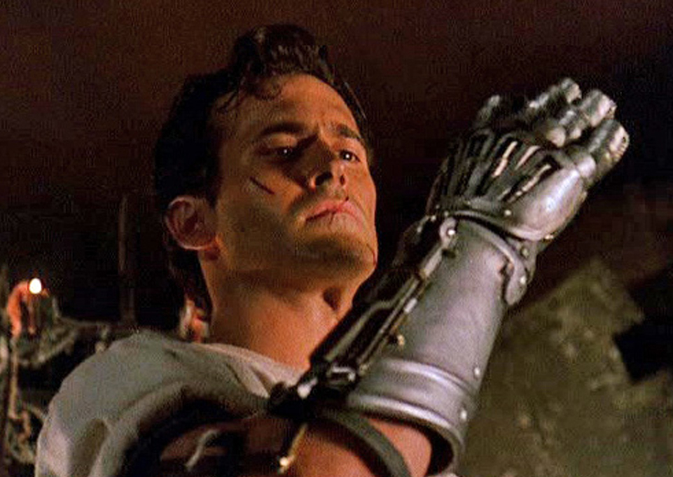 I was commissioned build Ash's mechanical hand from the movie Army of Darkness. This was a fun one to build as I love this movie too!