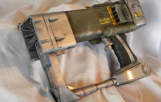 The final pistol.