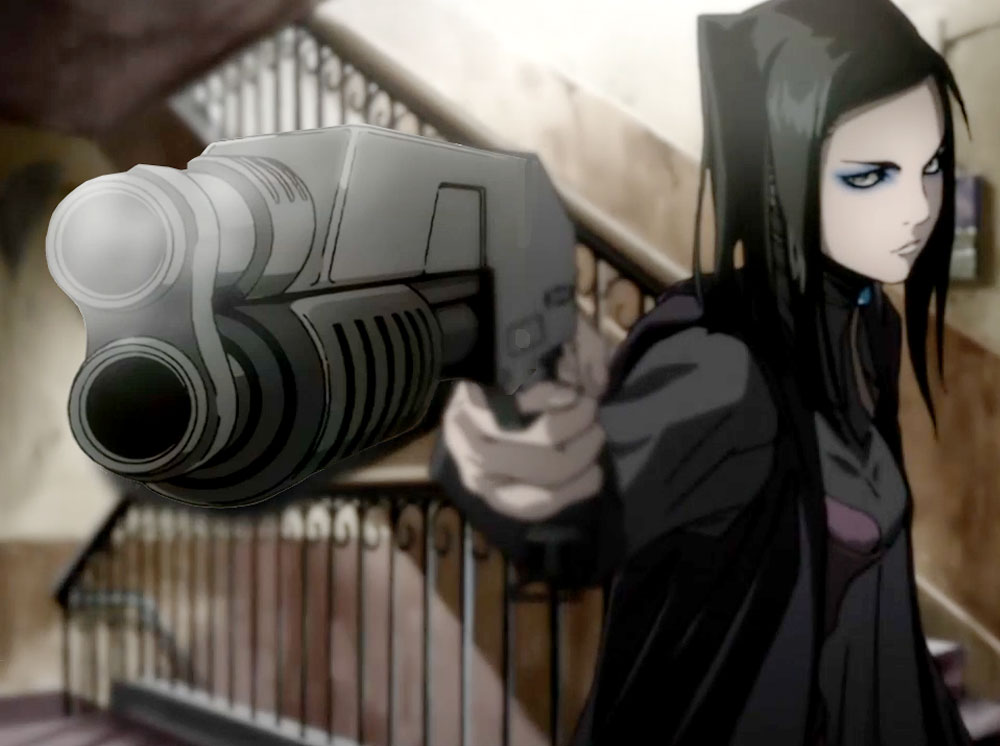 This is the main character's shotgun from the series.