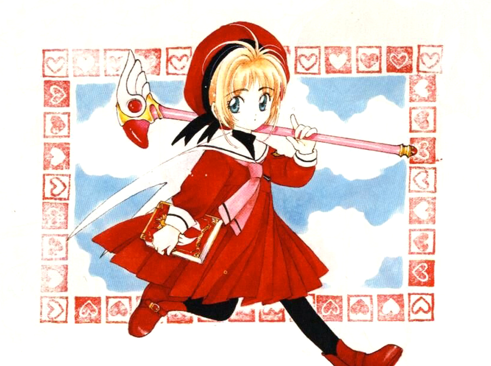 """I was commissioned to make the """"Sealing Wand"""" from the manga and anime series Card Captor Sakura (aka Cardcaptors). In the series, the Bird headed top changes to…"""