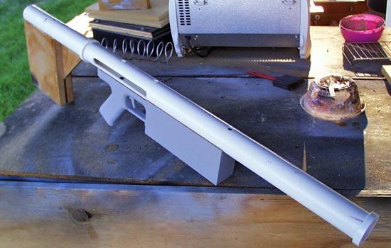 The assembled body so far.