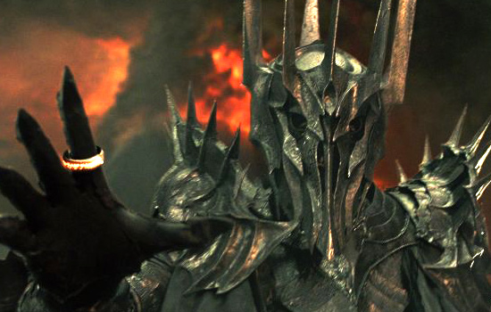 One of my favorite characters from the Lord of the Rings films was Sauron. My dream project is a full suit of his armor…which I will get to building…eventually.