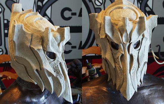 The final textured helmet.