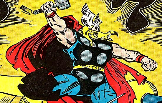 I am a huge fan of Walt Simonson's work as writer/artist on Marvel Comics THOR in the late 1980s.