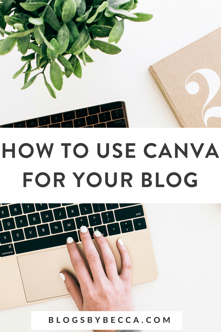 How to Use Canva For Your Blog! Canva is awesome for bloggers in need of graphic design for their blogs and social media. Click to learn about all the ways bloggers can use it on their blogs! #blog, #blogger, #blogging, #blogtips, #canva, #graphicdesign