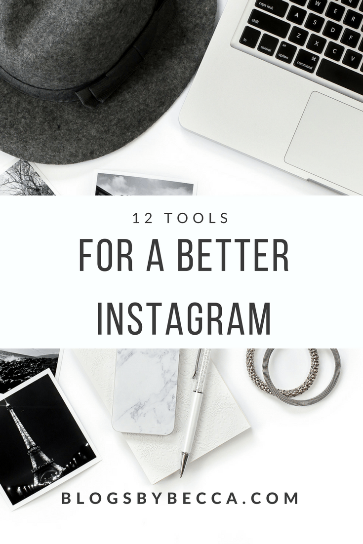 12 of the Best Instagram Tools and Instagram Apps. Great post on tools and apps for Instagram! Get more Instagram followers with these tips and tricks! #blogandbiz, #instagram, #instagramtips, #instagramtools