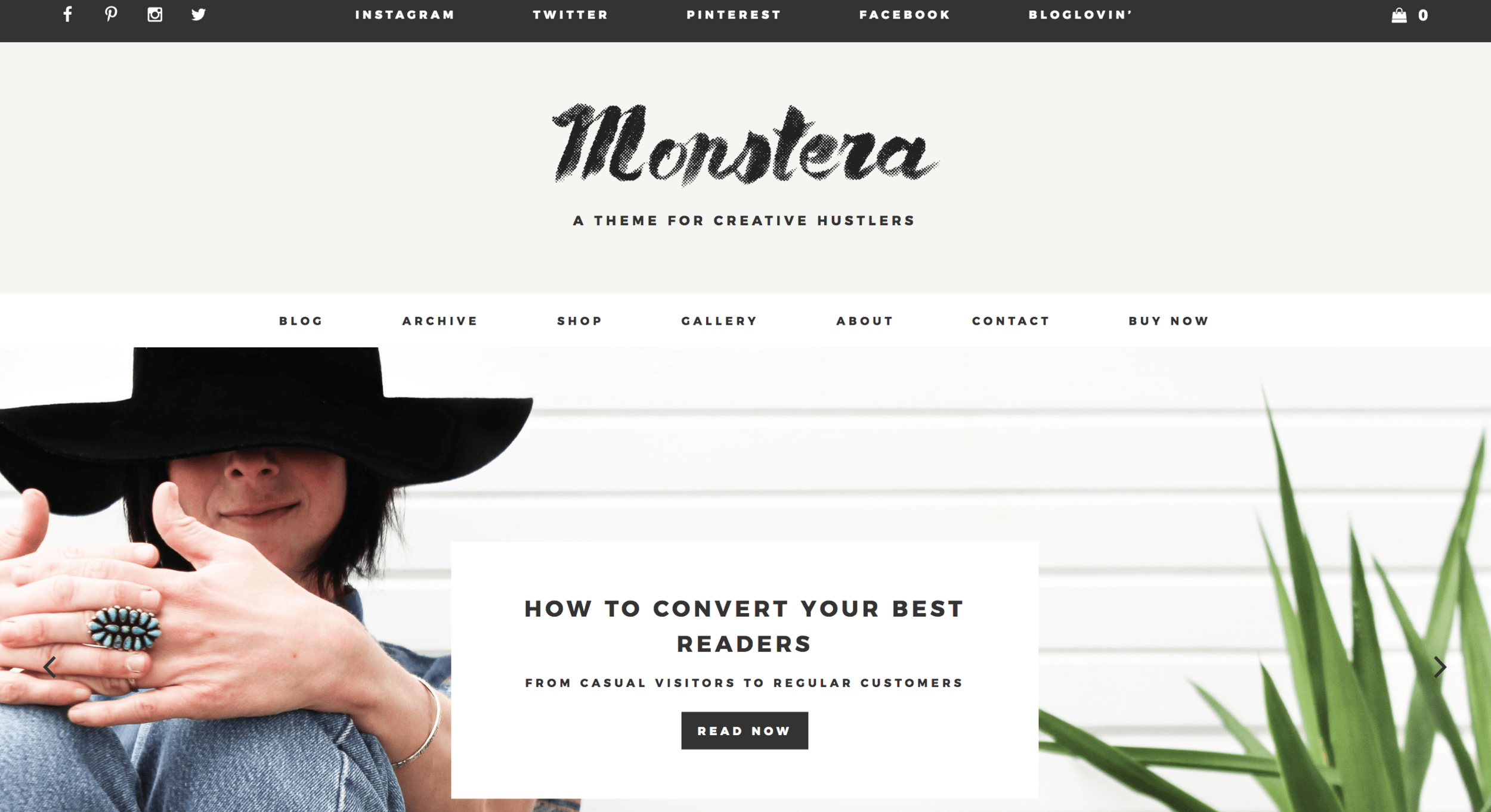 Best Wordpress Themes Monstera