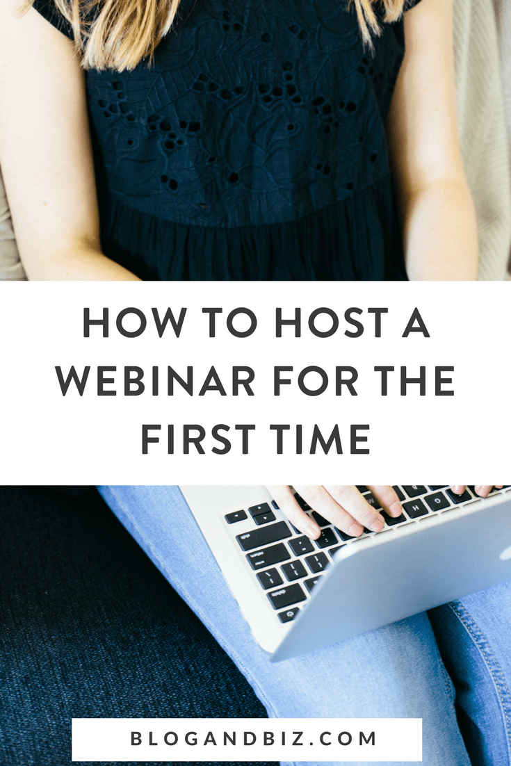 How to Host a Webinar For the First Time! Learn how to set up a webinar and how to do a webinar! These are great blog tips! #blogandbiz, #blogging, #blogtips, #webinar