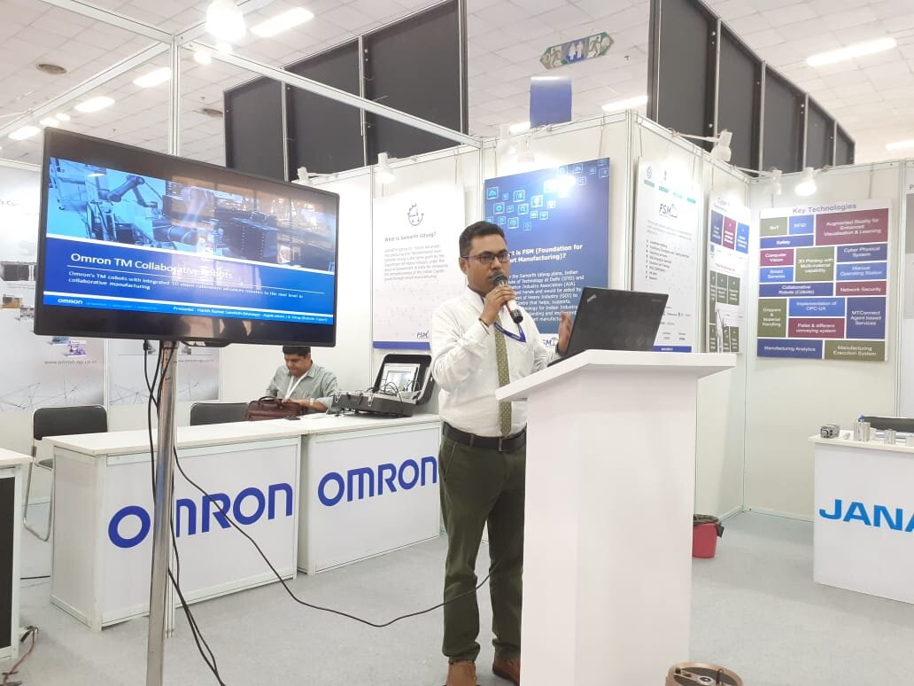 Omron Automation Pvt. Ltd. Mr. Harish Sandesh  Manager – Applications & ELearning Administrator 1.jpg