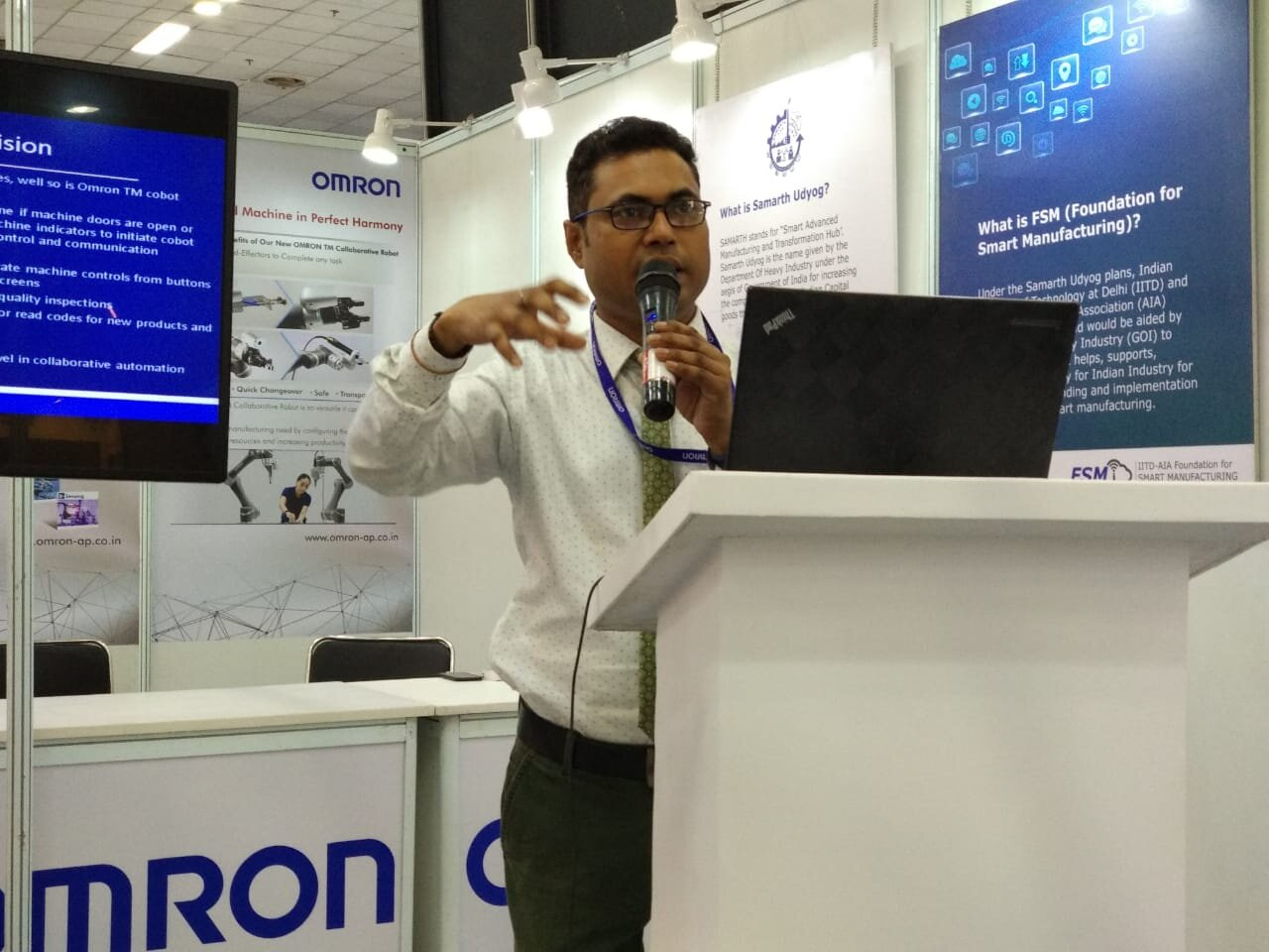 Omron Automation Pvt. Ltd. Mr. Harish Sandesh  Manager – Applications & ELearning Administrator 2.jpg