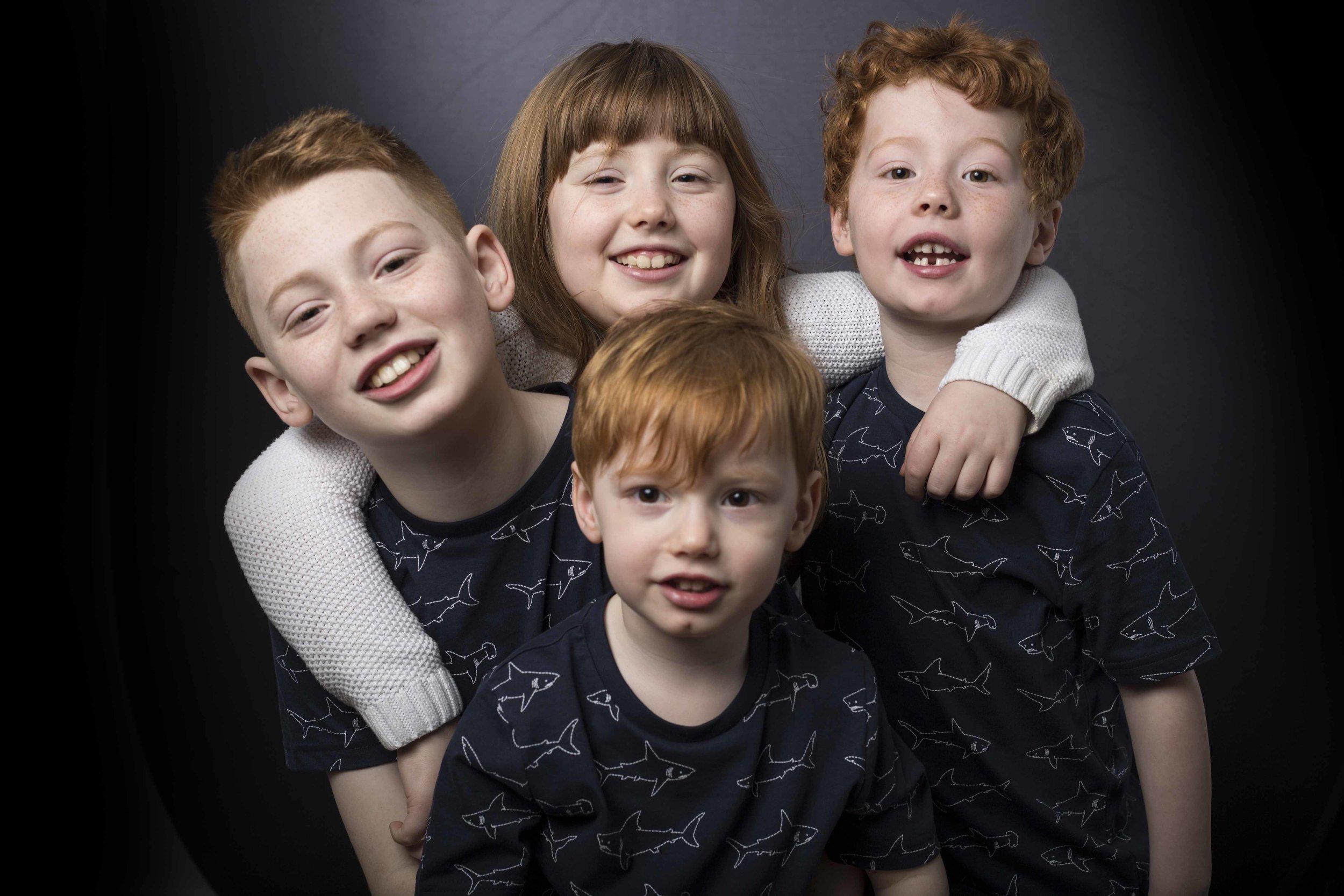 Holly, Jaxon, Oliver & Leo -