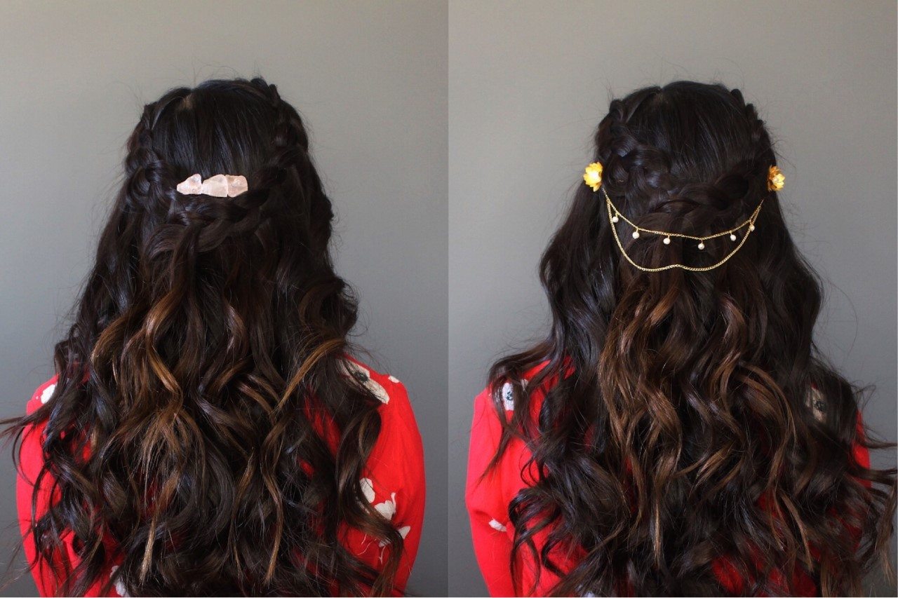 LOOK THREE: Boho Braids