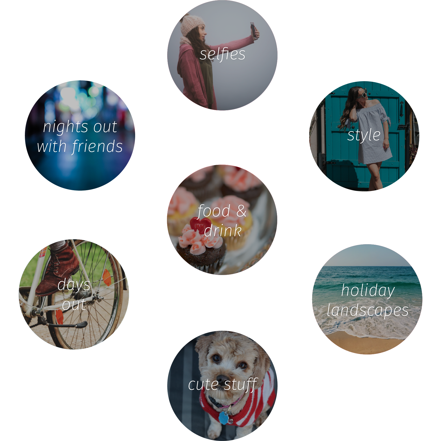 Studied trends - One of the most creative projects I was part of at Nokia was making an app with a set of photo filters. My team and I studied the trends of what people were sharing most around the world.