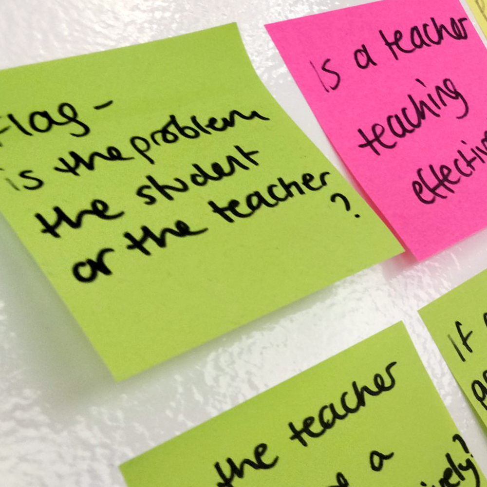 Why? - I organised interviews with school leaders across the country to understand their responsibilities within the school, and reveal some their current pain points.