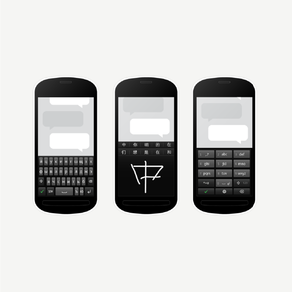 12 scripts - Together, we tested and designed all key layouts and micro-interactions that the phones would need for a global audience.