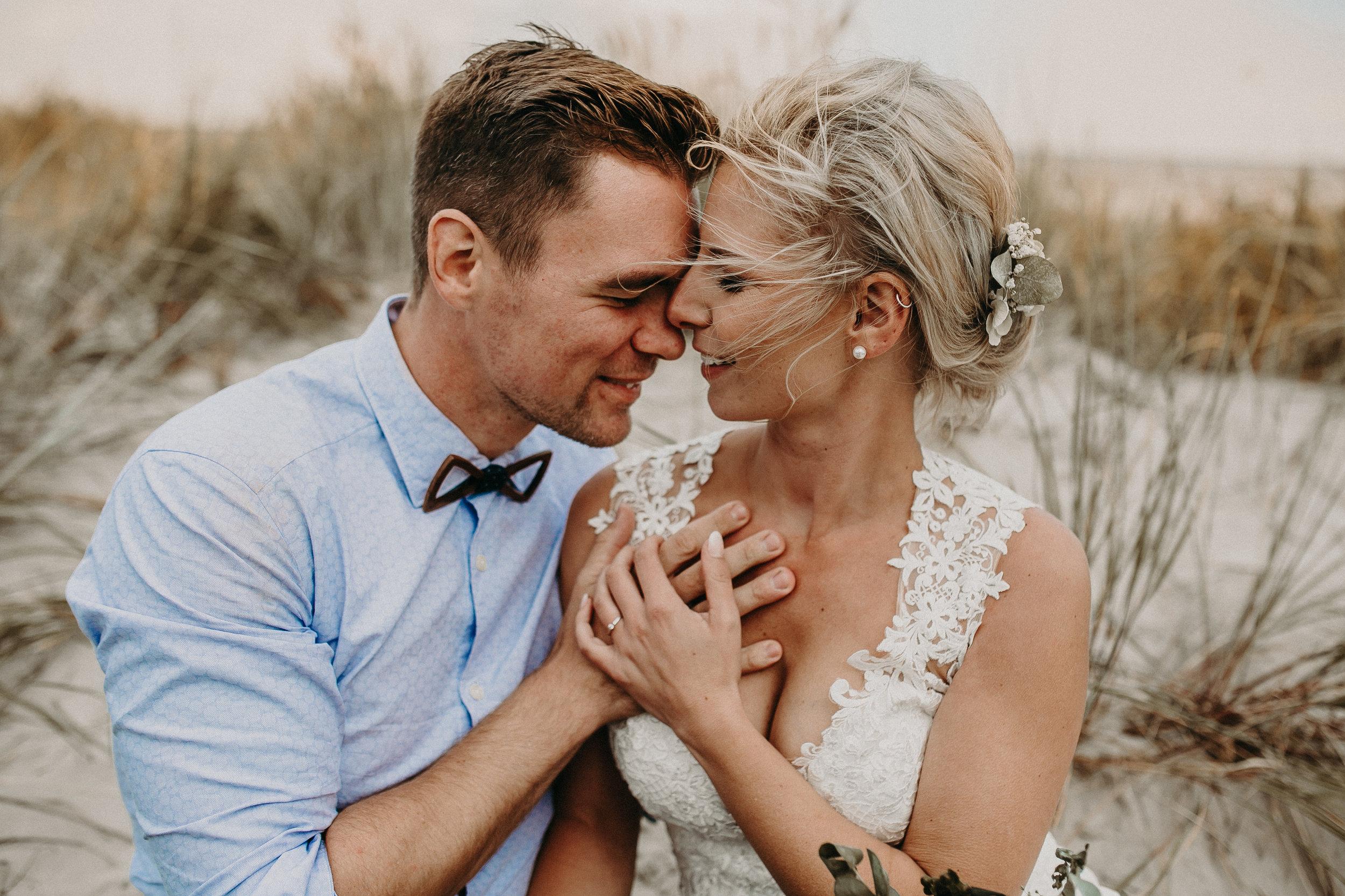 nordsee - Brautpaarshooting am strand von schillig - Mandy+Dominik