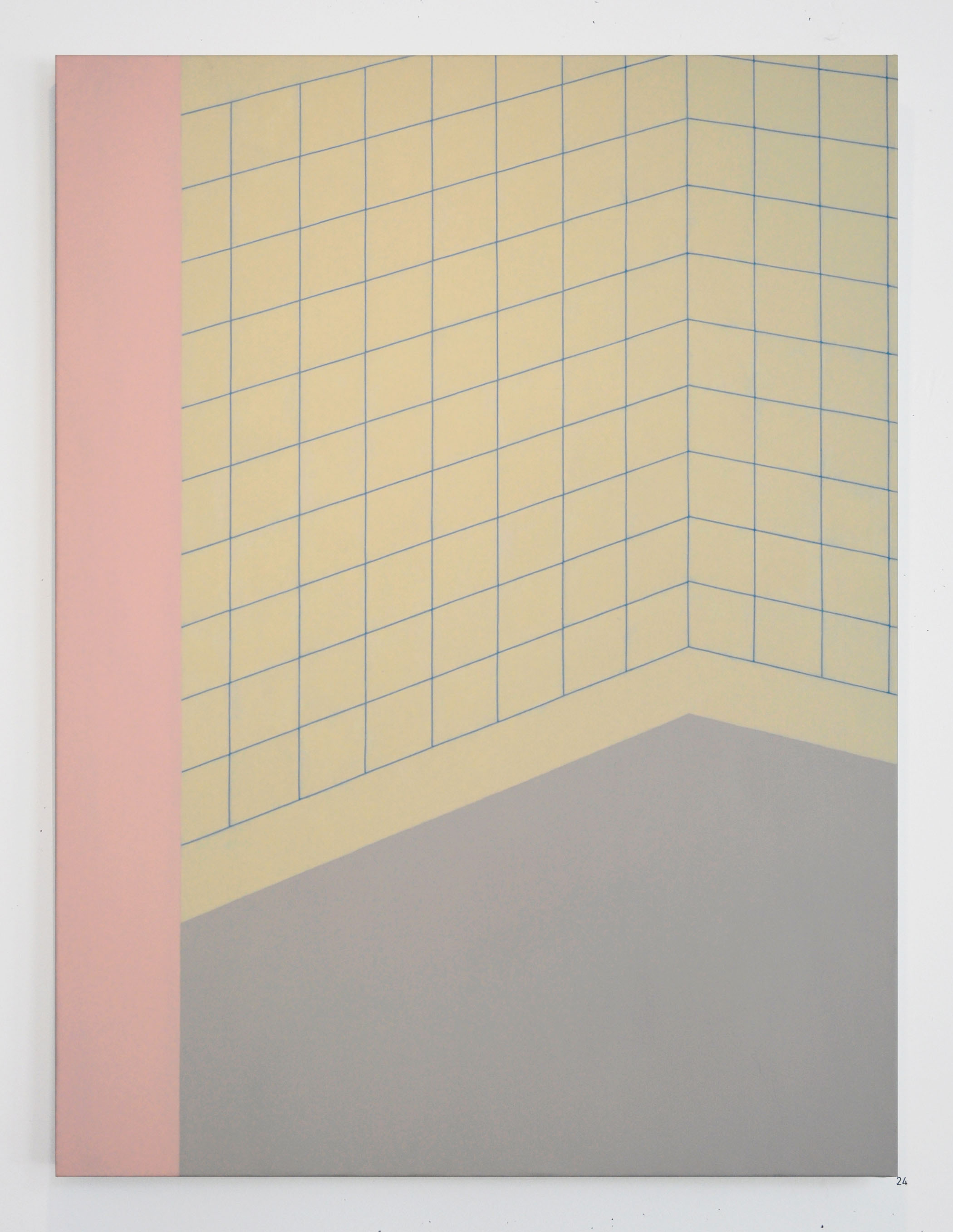 The Missing Tub   2014  oil on linen  36 in x 48 in