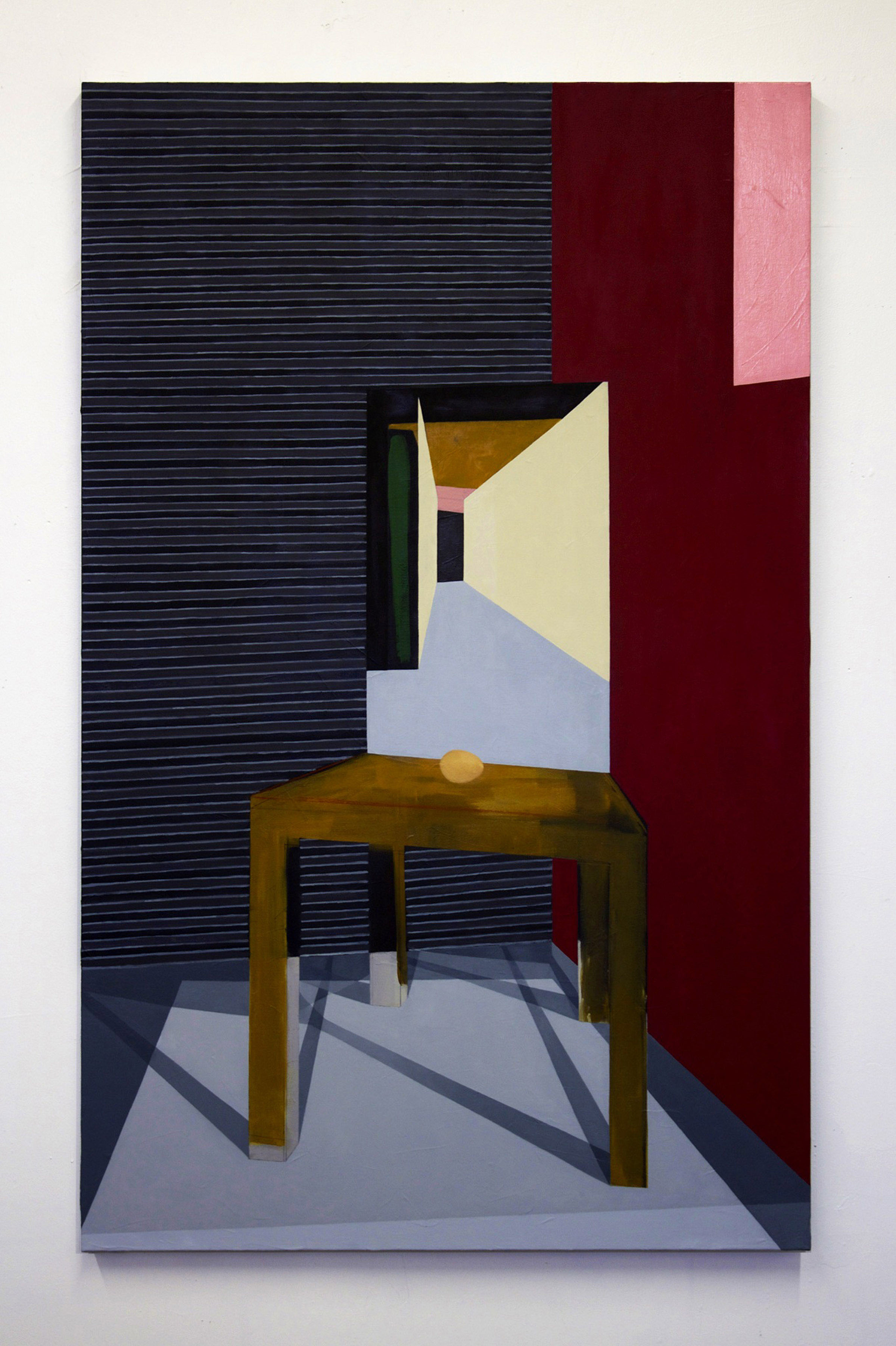 The Meaning of Life II   2013  oil on linen  36 in x 60 in