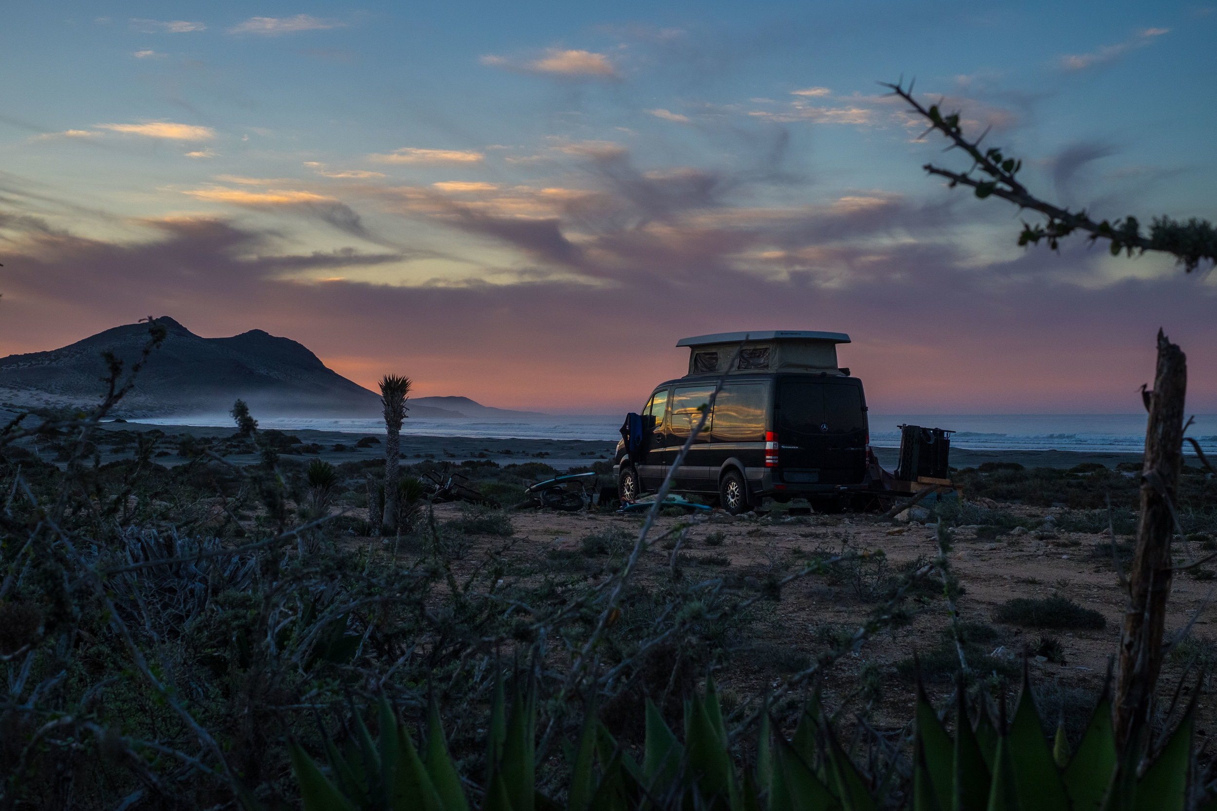 Not a Guide to Baja - January 2019, Baja Mexico - It seems like Baja is having a moment . . . a climax of things like bikepacking, van life, gps and the omnipresent information that social media and blogs provide. We don't know if it is a good or bad moment, but we think it would be interesting to take a snapshot. We'll get perspectives from all sorts of visitors, old timers who have come for decades and new comers arriving for the first time. How will we keep places like this feral? Or should we? Why? Who gets to decide?Content collected, and coming to a publication this summer . . . we'll keep you posted.