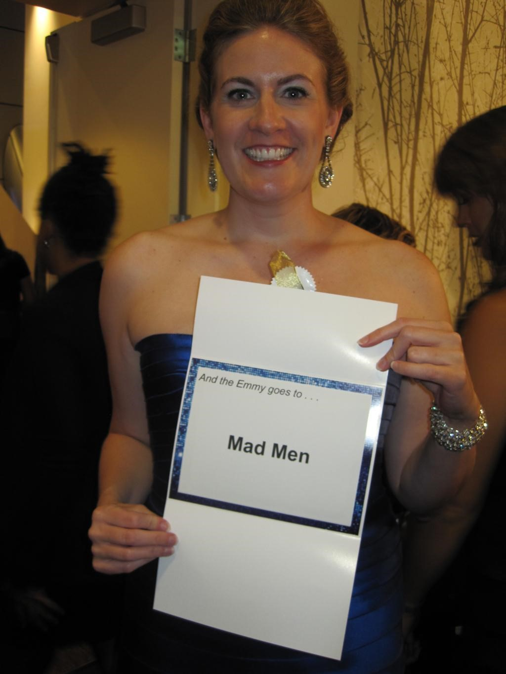 Marcy at Mad Men's Season 4 Emmy Awards in 2011
