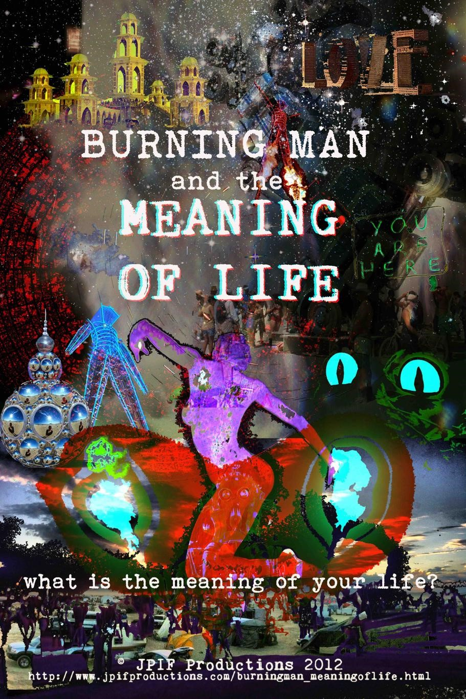 Julie wrote, directed and produced the 2012 documentary Burning Man and the Meaning of Life
