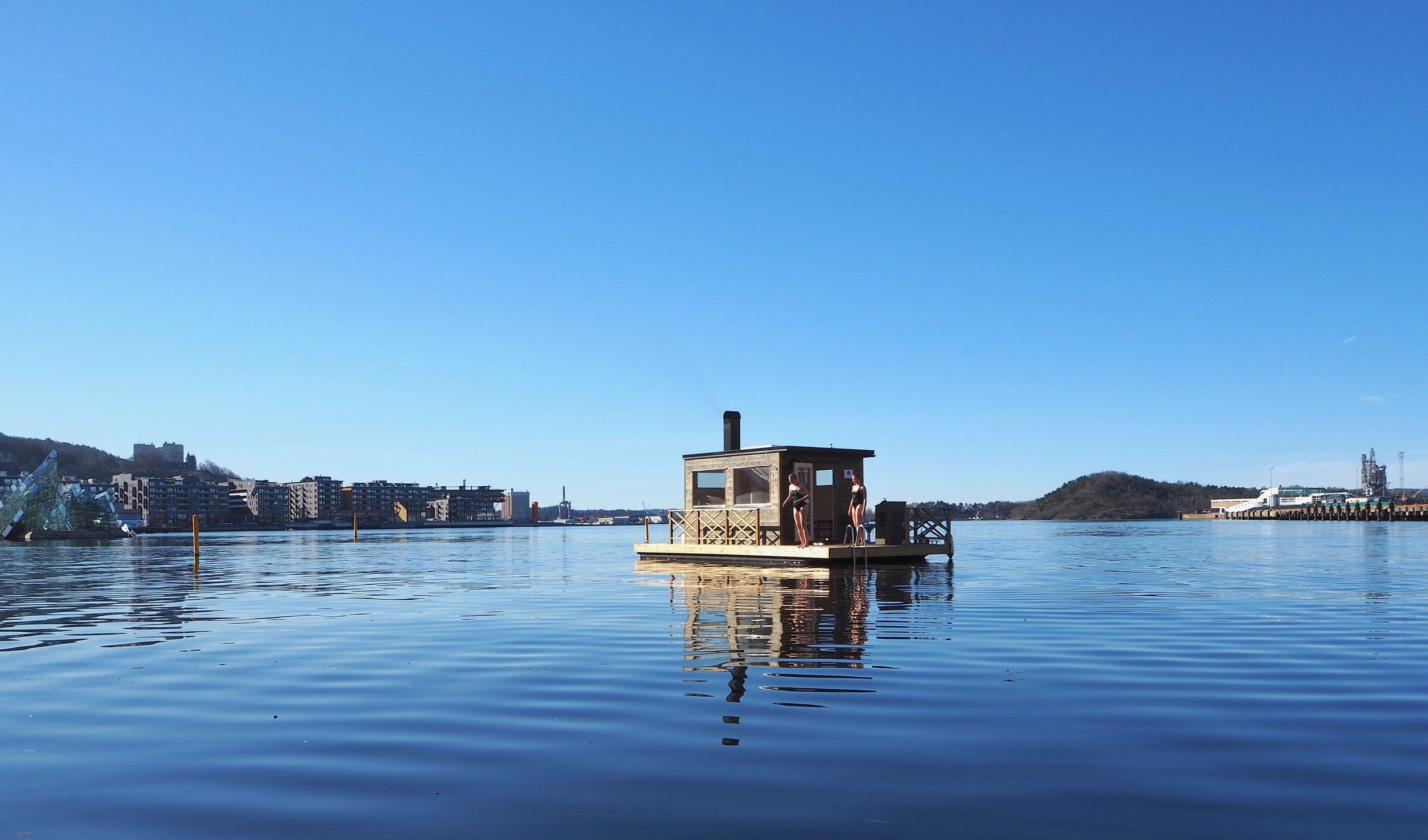 KOK – the floating sauna