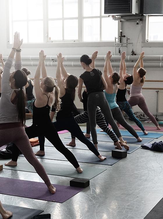 Ashtanga Yoga Master Class at Kia´s workshop at Dansehøyskolen in Oslo.