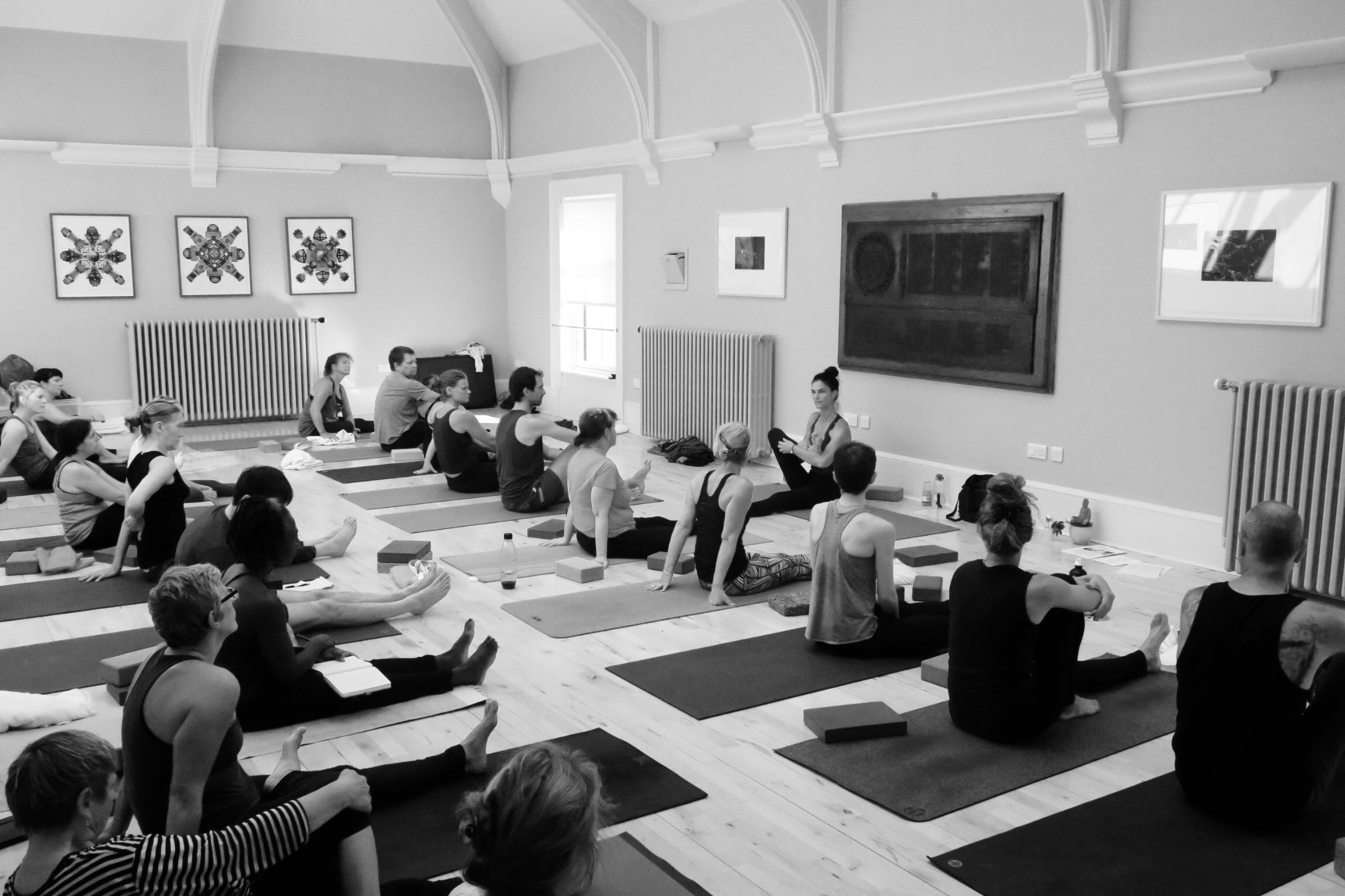 Workshop with Kia Naddermier at Rosina Bonsu Moves at the Arlington Baths Club in Glasgow