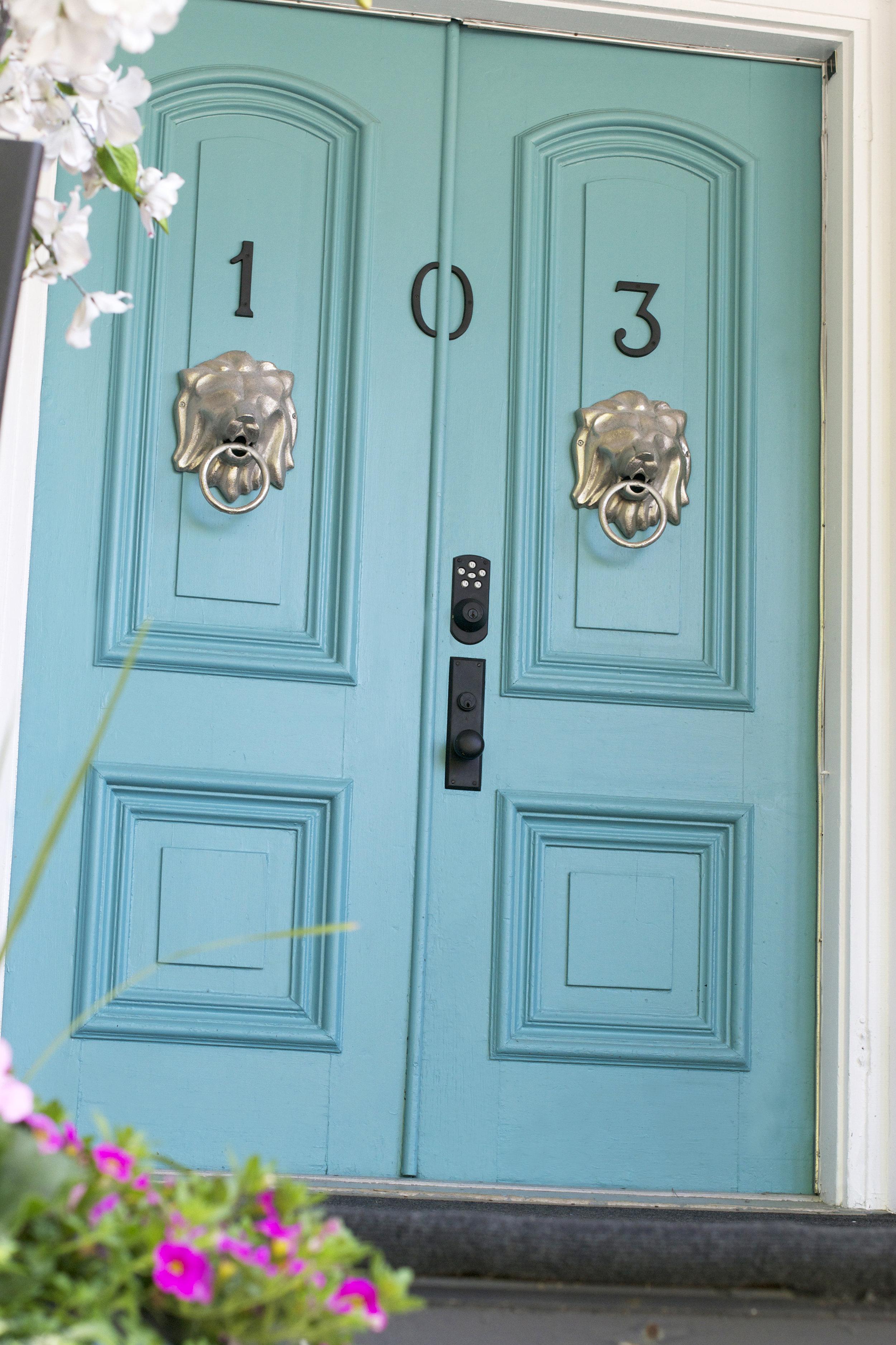 turquoise front door.jpg