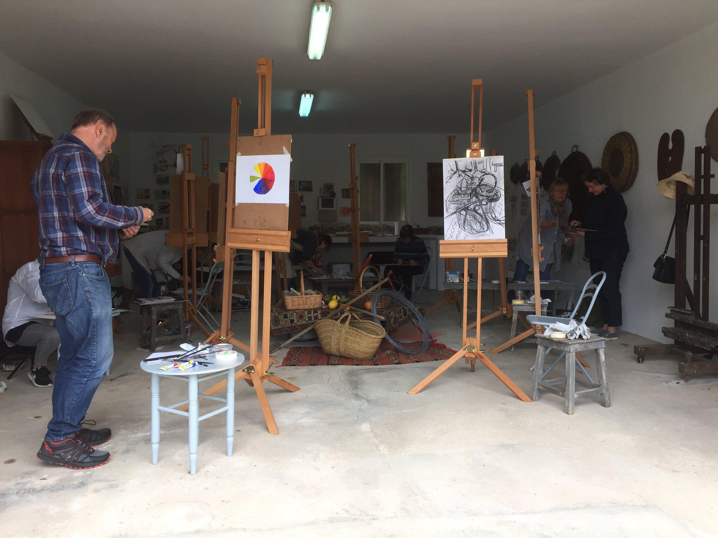 Art Courses -