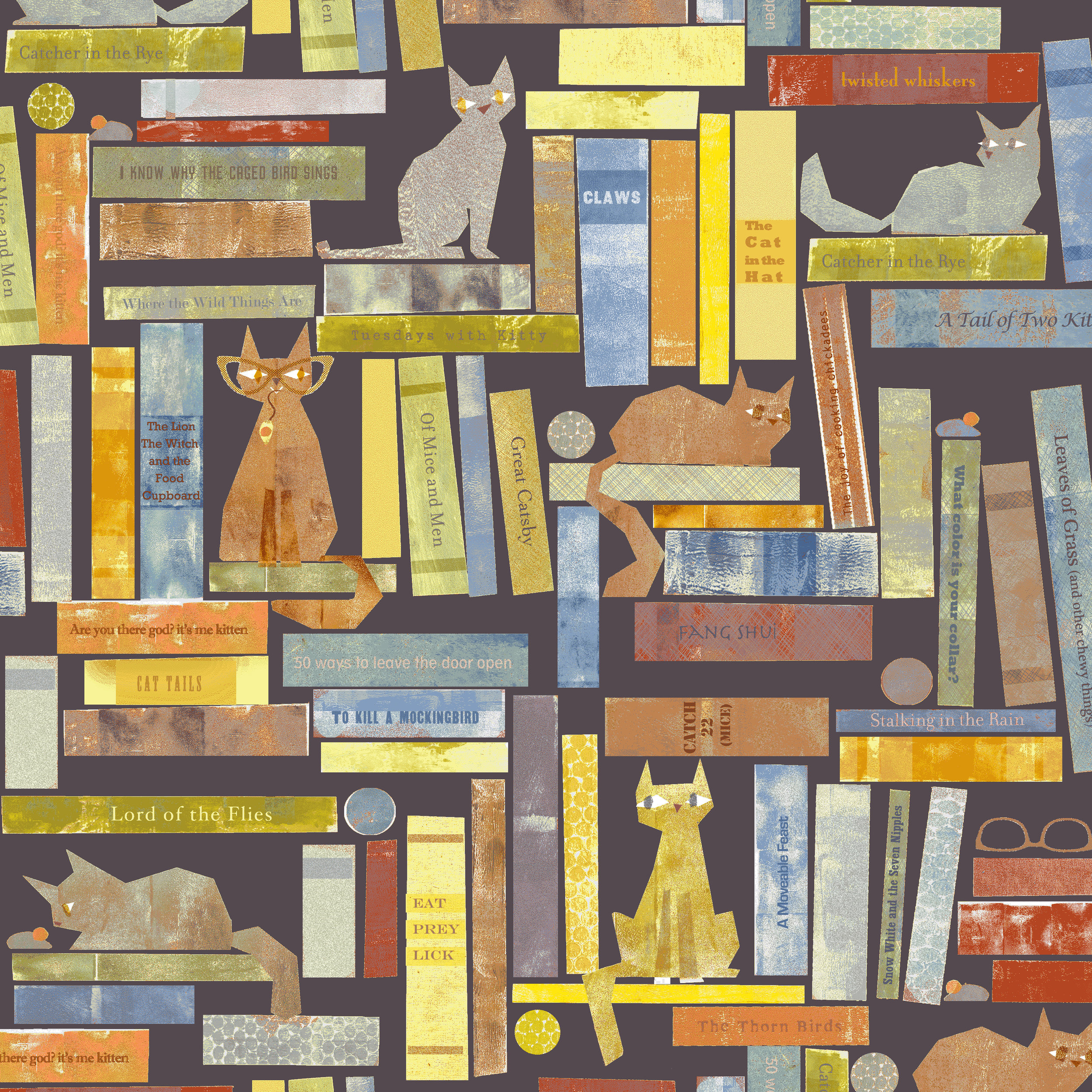 Smarty Cats | Cats on Books