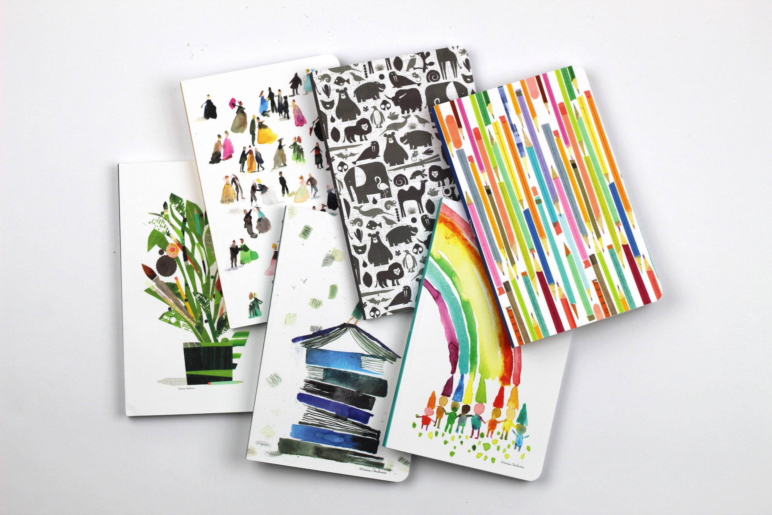 Denik notebooks