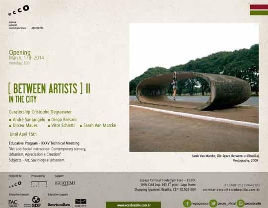 Current show at Ecco, Brasilia
