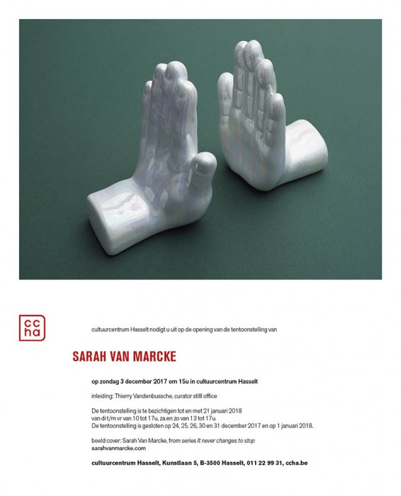 Solo exhibition at CCHA