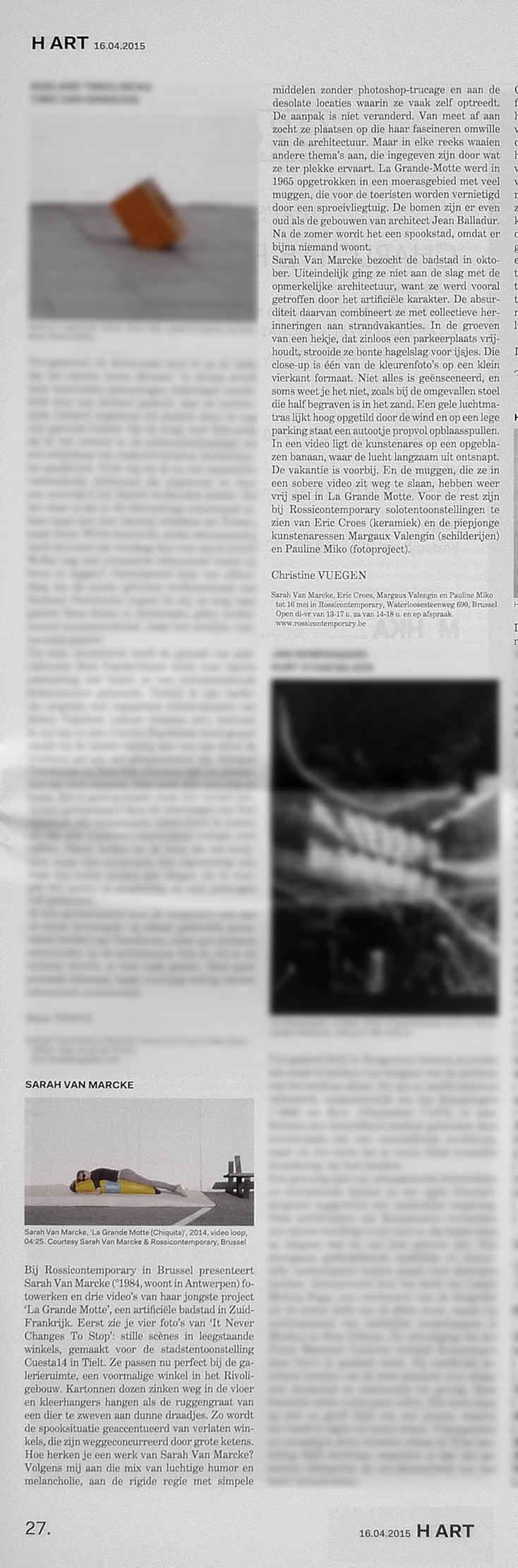 03 - Hart nr140- p27-text by Christine Vuegen.jpg