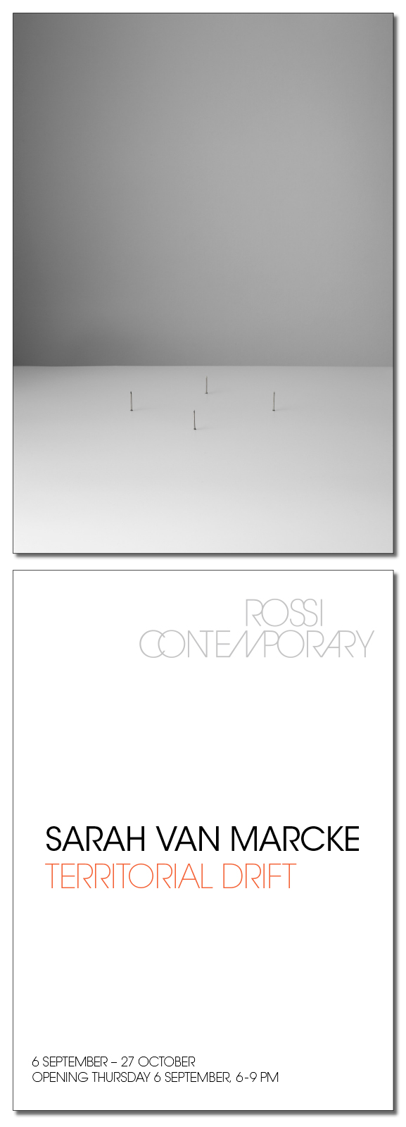 Solo exhibition at Rossicontemporary!
