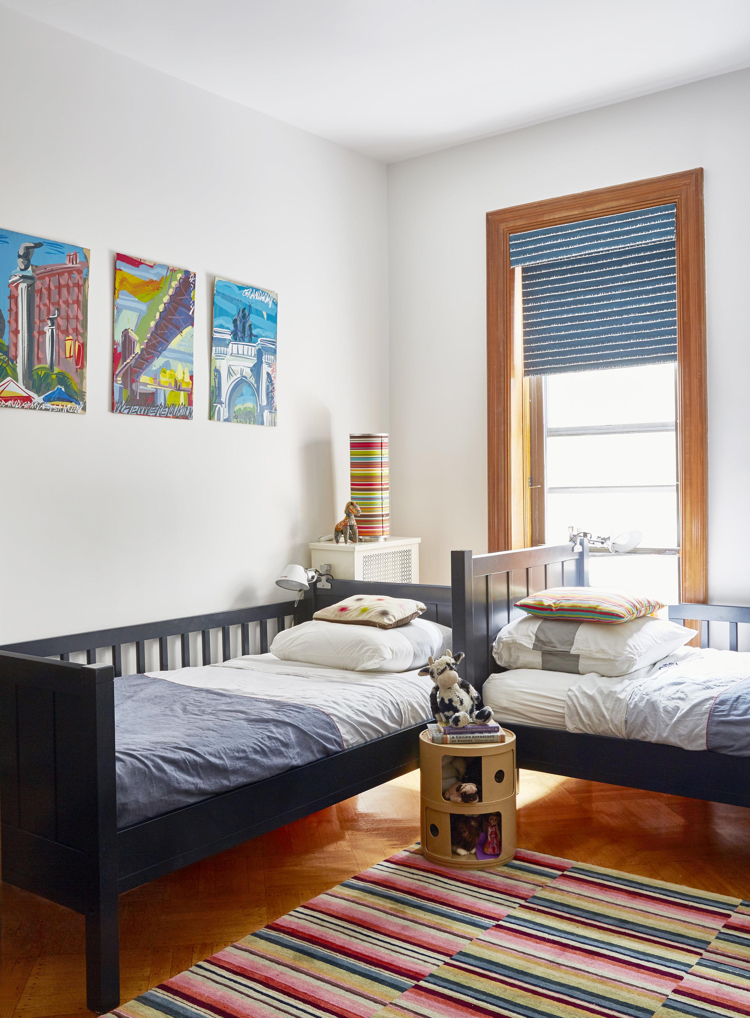 Kids Room Double Twin Bed Best Friends Interior Design Jmorris Design New York Designer