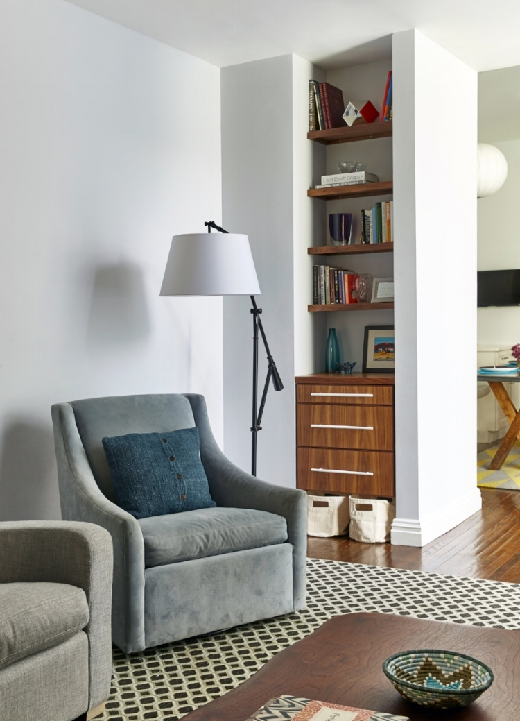 Living Room Niche in our  Park Slope Glam  Project