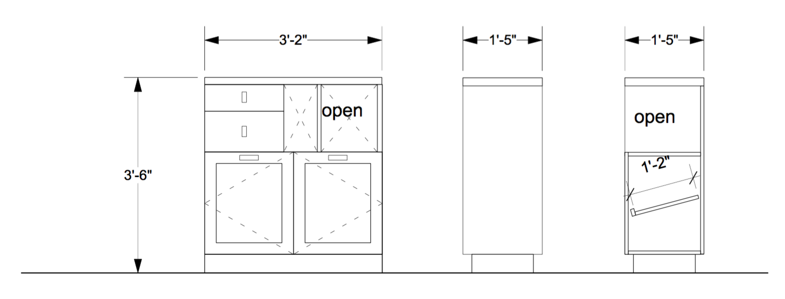 Walnut-Handmade-Entry-Console-Furniture-Dimensions-JMorris-Design