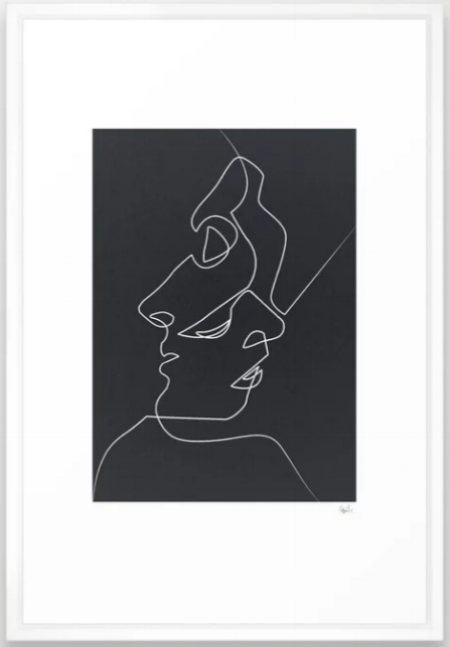 'Close Noir' by  Quibe , available at  Society6 . Image via  society6.com