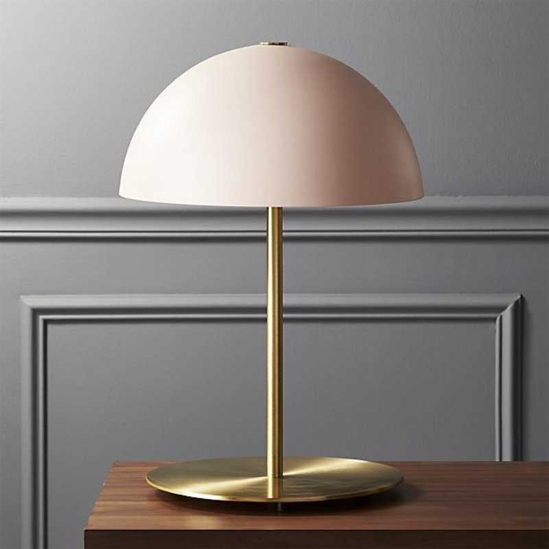 CB2 strikes again with the  Hanna Pink Lamp !