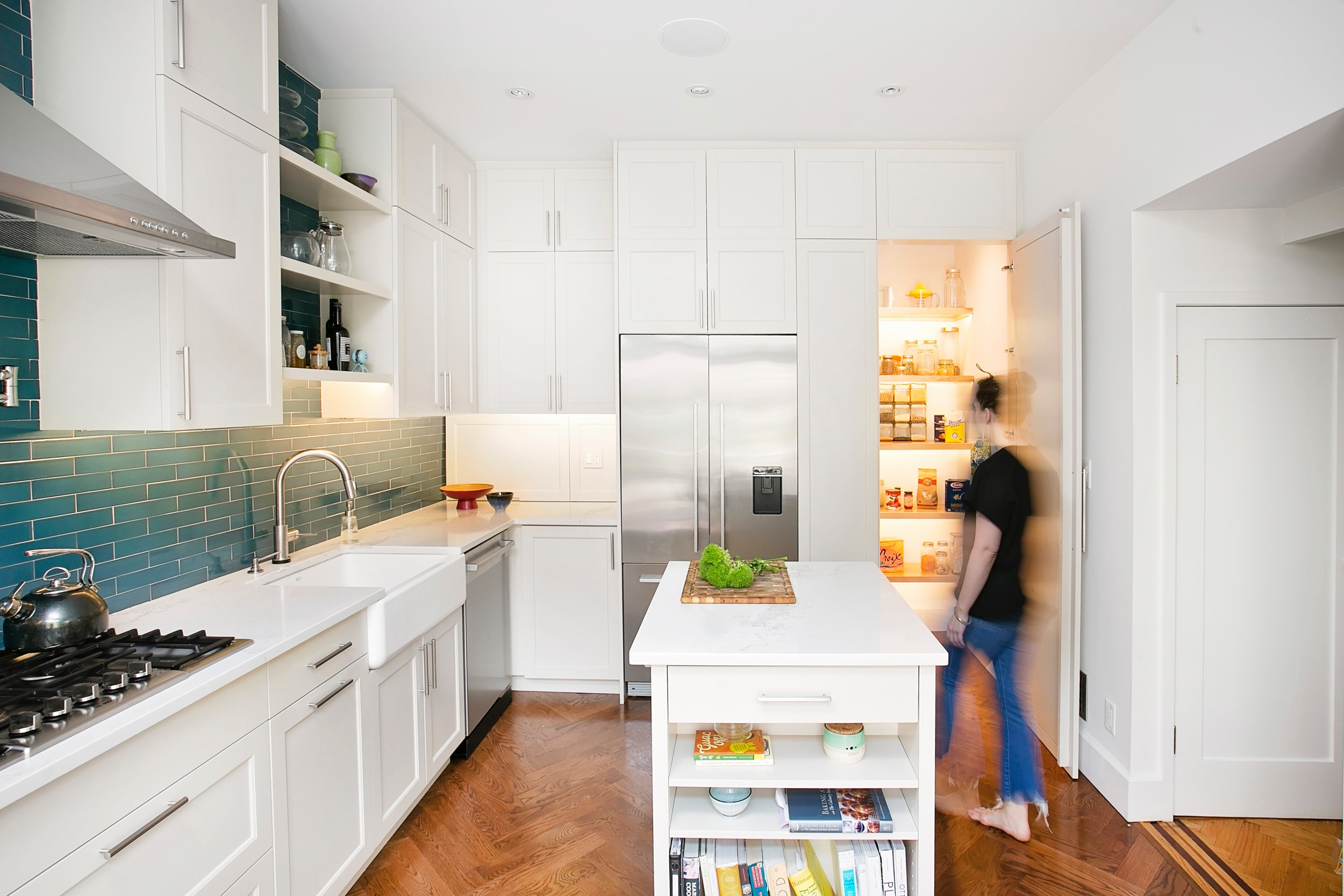 "Custom Pantry in our "" Delightful Ditmas Park ' project in Brooklyn, NY"